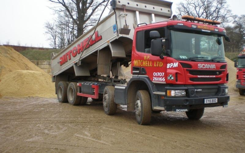 Used Scania Tipper