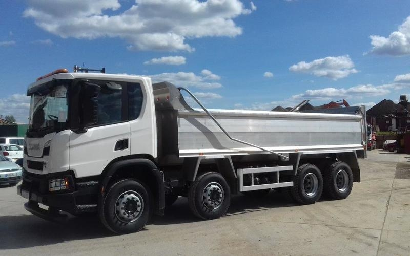 New Scania XT Alloy Tipper